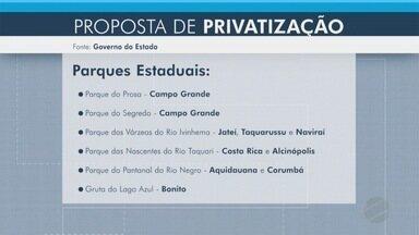 Governo de MS estuda conceder alguns parques para iniciativa privada - Ao todo, são 12 parques estaduais em Mato Grosso do Sul. Os estudos analisam a viabilidade para seis deles.