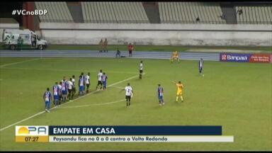 """Ivo Amaral define mais um empate do Paysandu na Série C: """"Falta competência"""" - De acordo com o comentarista da TV Liberal, grande parte dos jogadores estão decepcionando a Fiel"""