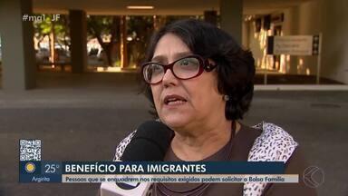 CREAS de Juiz de Fora orienta imigrantes e refugiados sobre Bolsa Família - Benefício pode ser solicitado desde que estas pessoas comprovem que atendem às exigências do programa.