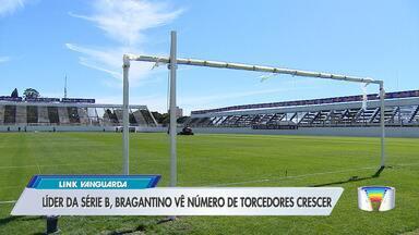 Bragantino e Ponte Preta se enfrentam pela série B do Brasileiro - Apoio da torcida do Braga tem sido cada vez maior.