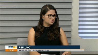 Médica fala sobre tratamento do refluxo - A médica gastroenterologista Marília Marques fala sobre sintomas e tratamento.
