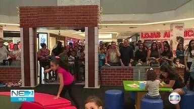 Programação de férias tem várias opções em shopping no Recife - Atividades são direcionadas a bebês e a crianças de até 12 anos
