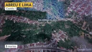 Veja quem são as pessoas que morreram devido às chuvas - Grande Recife teve 12 mortes na quarta-feira (24) devido a deslizamento de barreiras.
