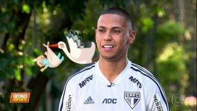 Bruno Alves revela: elenco do São Paulo capricha na reprodução de gols e de bebês - Bruno Alves revela: elenco do São Paulo capricha na reprodução de gols e de bebês