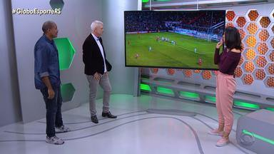 Márcio Chagas analisa lances da arbitragem na partida entre Inter e Nacional - Assista ao vídeo.