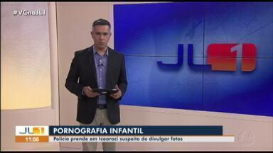 Polícia prende em Belém suspeito de compartilhar pornografia infantil - Polícia prende em Belém suspeito de compartilhar pornografia infantil