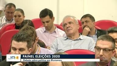 NSC promove o painel eleições 2020 - NSC promove o painel eleições 2020