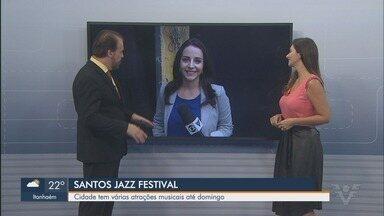 8ª edição do Santos Jazz Festival começa nesta quinta-feira em Santos, SP - Cidade tem várias atrações musicais até domingo. Show de abertura acontece no Sesc.