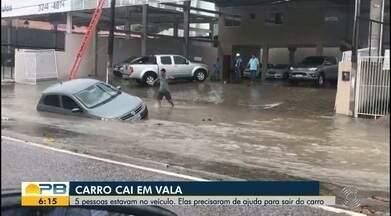 Fortes chuvas atingem a Paraíba - Estado tem 17 municípios sob alerta de 'grande perigo' de chuvas, diz Inmet.