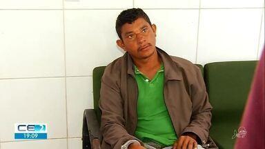 Preso suspeito de feminicídio em Santana do Cariri - Confira mais notícias em g1.globo.com/ce