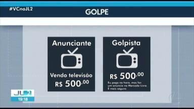 Bandidos se aproveitam de sites de compra e venda pela internet para aplicar golpes no PA - Nos sete primeiros meses de 2019, foram 300 casos de estelionato registrados em Belém.
