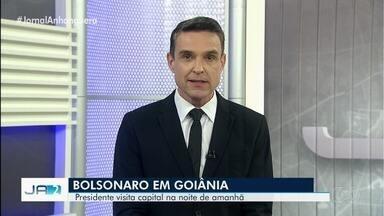 Presidente Jair Bolsonaro em Goiânia nesta sexta pelos 161 anos da PM de Goiás - Programação inclui a formatura de aspirantes. Isso vai acontecer no Comando da Academia da PM.