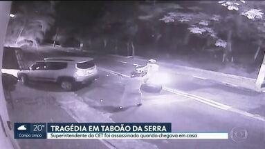 Funcionário da CET é assassinado quando chegava em casa, em Taboão da Serra - Moradores do Parque monte Alegre estão assustados. Número de assaltos é alto e muitas casas na região foram postas à venda.