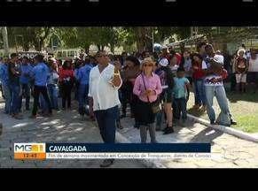 Cavalgada em Conceição de Trunqueiras reúne grande público - Distrito de Coroaci mantém forte tradição cultural.