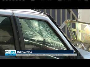 Homem morre após ser atingido por tiros, tentar fugir e bater veículo em Fabriciano - Ele teria saído do Bairro Santa Teresinha para fazer uma entrega no Bairro Silvio Pereira II, quando foi abordado e atingido por tiros; homem tinha passagem por porte ilegal de arma.