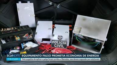 Golpe: equipamento prometia economia de energia - Copel teve prejuízo de mais de um milhão de reais