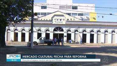 Mercado cultural será fechado por 90 dias para reforma - Atividades do calendário de eventos deve continuar do lado de fora do prédio.
