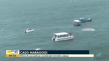 Caso do naufrágio do catamarã em Maragogi pode ser considerado homicídio culposo - Confira mais notícias em g1.com.br/ce