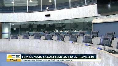Inácio Aguiar fala quais são os temas mais discutidos na Assembleia Legislativa - Confira mais notícias em g1.com.br/ce