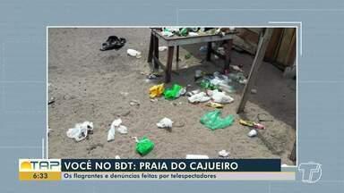 Veja denúncias e flagrantes enviados por telespectadores no Bom Dia Tapajós - Participe enviando flagrantes que serão mostrados em nossos telejornais através do (93) 99122 9460.