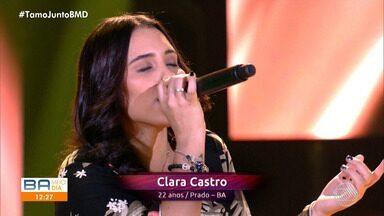 Jovem baiana brilha na noite de estreia do programa The Voice Brasil - A jovem é natural de Prado, cidade que fica no extremo sul da Bahia, mas atualmente vive em Minas Gerais.