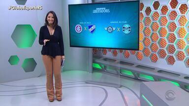 Dupla Gre-Nal disputa por vagas nas quartas de final da Libertadores - Assista ao vídeo.