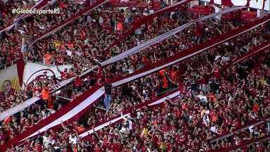 Inter se destaca em casa no Beira-Rio durante a Libertadores de 2019 - Casa dos colorados já recebeu 47 mil torcedores nessa Libertadores.