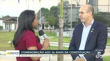Programação especial é realizada em comemoração aos 36 anos da Constituição de Rondônia - Evento será realizado em Porto Velho