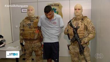 Chefe de facção criminosa do CE é preso em Trindade, GO - Elison Vidal Pinheiro, de 22 anos, possui 15 mandados de prisão por crimes como homicídio e tráfico de drogas.