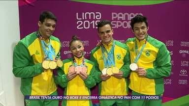 Ginástica Artística é o destaque do Brasil nos Jogos Pan-Americanos de Lima, até o momento - Ginástica Artística é o destaque do Brasil nos Jogos Pan-Americanos de Lima, até o momento