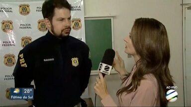 PRF e PF realizam operação Trunk, pra combater o contrabando de cigarros paraguaios - Investigação aponta participação de policiais no esquema que facilitava a entrada do produto no Brasil.