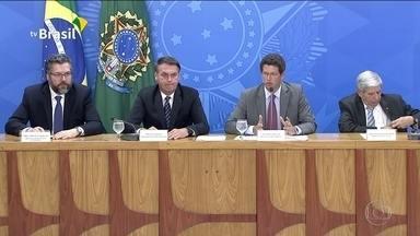 Governo volta a questionar dados sobre desmatamento no Brasil - Ministro Ricardo Salles reconheceu que o desmatamento está aumentando na Amazônia e reafirmou que pretende contratar um novo sistema de monitoramento.