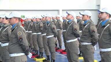 80 novos soldados se formam na Brigada Militar em Santa Maria - Assista ao vídeo.