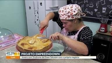 Projeto ajuda pessoas com síndrome de down a faturar com o próprio negócio - Dois de cada cinco brasileiros têm seu próprio negócio, e a maioria tem entre 18 e 24 anos.