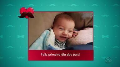 Te amo, Pai!: telespectadores compartilham imagens com o Jornal do Almoço - Participe também pelo VC NO G1.