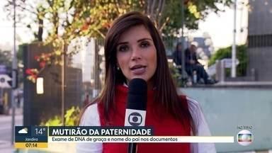 Mutirão da Paternidade em São Paulo - Nesta sexta, sábado e segunda o mutirão vai realizar exames de DNA gratuitos para o reconhecimento de paternidade