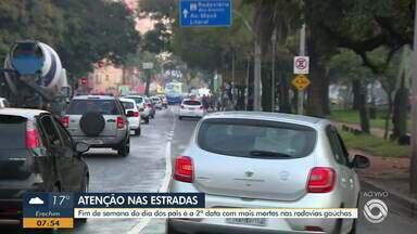 Operação intensifica fiscalização no trânsito para o Dia dos Pais no RS - Assista ao vídeo.