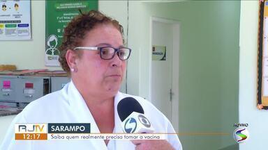 Saiba quem precisa tomar a vacina contra o sarampo - Especialista esclarece dúvidas sobre a vacinação.
