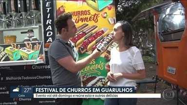 Festival de churros em Guarulhos - Evento vai até domingo e reúne esta e outras delícias.