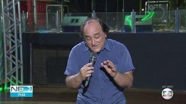 Patrick Dimon faz show romântico no esquenta para o Dia dos Pais - Apresentação ocorre no Clube das Pás, em Campo Grande, no Recife.