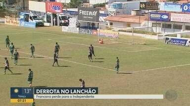 Francana perde para o Independente, mas se classifica no Campeonato Paulista - Veterana termina em segundo lugar na tabela e avança na 4ª Divisão.
