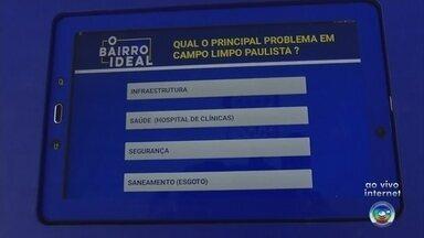 Votação para 'O Bairro Ideal' começa nesta segunda-feira na região de Jundiaí - Votação para 'O Bairro Ideal' começa nesta segunda-feira na região de Jundiaí. Nesta edição o projeto visitou as cidades de Campo Limpo Paulista, Itatiba, itupeva e Jarinu (SP)