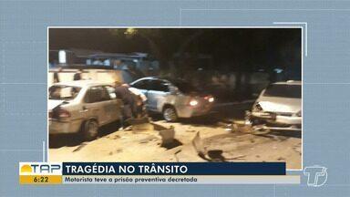 Dois morrem e dois ficam feridos envolvendo acidente com condutor embriagado em Santarém - Acidente aconteceu na madrugada de domingo (12).