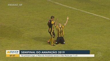 Santos-AP vence São Paulo-AP por 1 a 0 na semifinal do Amapazão - Jogo de ida aconteceu no sábado (10).