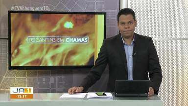 Tocantins registra mais de 5 mil queimadas de janeiro a agosto - Tocantins registra mais de 5 mil queimadas de janeiro a agosto