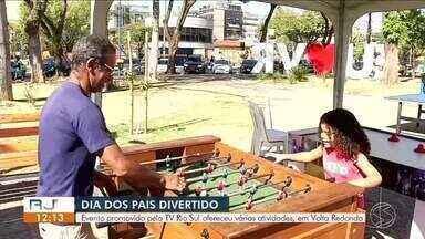 'Dia dos Pais Divertido' leva atividades gratuitas a Volta Redonda - Evento, promovido pela TV Rio Sul, tem programação especial para a família.