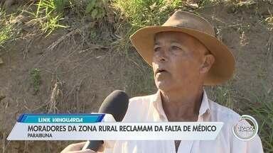 Pacientes da zona rural de Paraibuna reclamam de falta de médicos - O Link Vanguarda foi ao local verificar a situação.