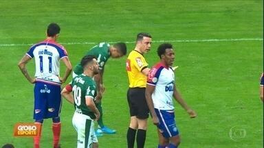 Em jogo com polêmicas do VAR, Palmeiras e Bahia empatam por 2 a 2 - Em jogo com polêmicas do VAR, Palmeiras e Bahia empatam por 2 a 2