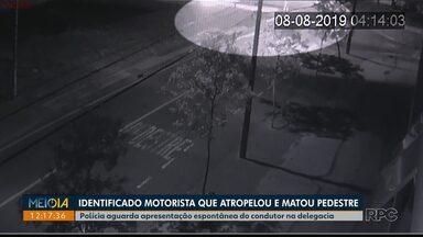 Polícia aguarda apresentação de motorista que atropelou pedestre na Av. São João - O motorista já foi identificado, se comunicou com a polícia civil por telefone e deve prestar depoimento ainda nesta semana.