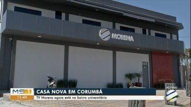 TV Morena de Corumbá inaugura novo prédio - Emissora fica no bairro Universitário